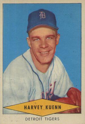 1954 Red Heart Baseball Cards 19
