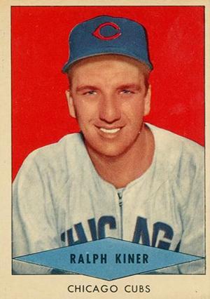 1954 Red Heart Baseball Cards 17