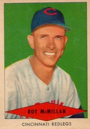 1954 Red Heart Baseball Cards 25
