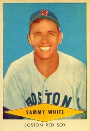 1954 Red Heart Baseball Cards 35
