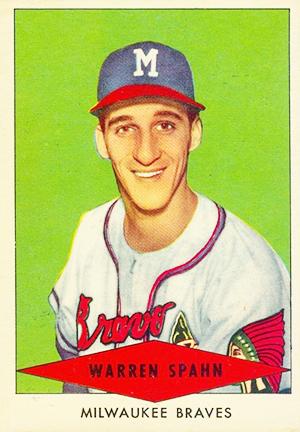 1954 Red Heart Baseball Cards 34