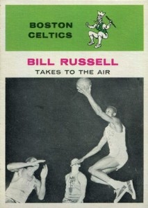Top 10 Bill Russell Basketball Cards of All-Time 3