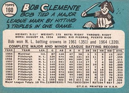 1965 Topps Baseball Cards 2