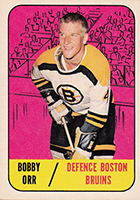 Bobby Orr Cards, Rookie Cards and Autographed Memorabilia Guide