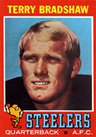 Terry Bradshaw Cards, Rookie Cards and Autographed Memorabilia Guide