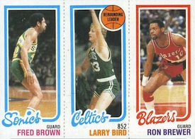 Larry Bird Cards and Memorabilia Guide 5