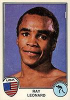 Sugar Ray Leonard Boxing Cards and Autographed Memorabilia Guide