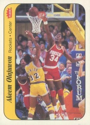 Top Hakeem Olajuwon Cards of All-Time 3