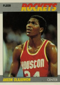 Top Hakeem Olajuwon Cards for Basketball Collectors to Own 4