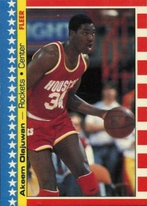 Top Hakeem Olajuwon Cards for Basketball Collectors to Own 5