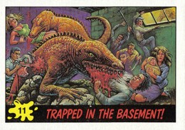 1988 Topps Dinosaurs Attack Trading Cards 3