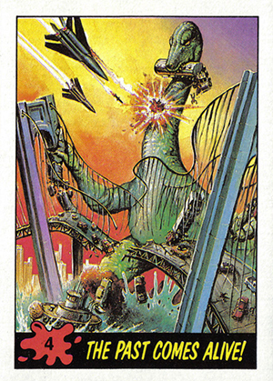 1988 Topps Dinosaurs Attack