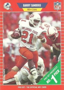 Top Barry Sanders Cards of All-Time 2