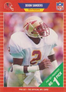 1989 Pro Set Deion Sanders RC