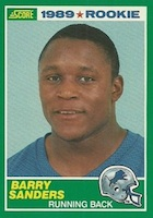 Barry Sanders Cards and Memorabilia Guide