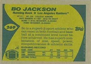 1989 Topps Football Cards 4