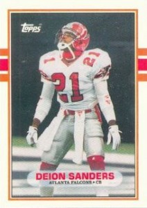 1989 Topps Traded Deion Sanders RC