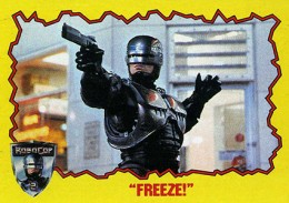 1990 Topps Robocop 2 Trading Cards 1