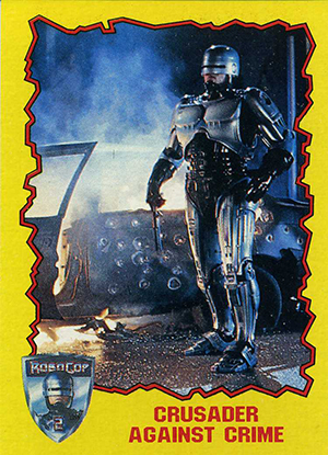 1990 Topps Robocop 2 Trading Cards 21