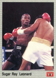 Sugar Ray Leonard Boxing Cards and Autographed Memorabilia Guide 3
