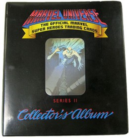 1991 Impel Marvel Universe Series II Binder