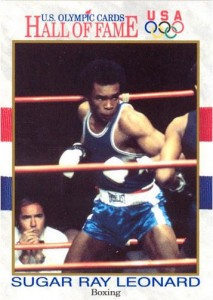 1991 Impel Sugar Ray Leonard