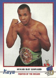 Sugar Ray Leonard Boxing Cards and Autographed Memorabilia Guide 6