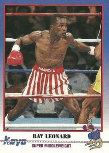 Sugar Ray Leonard Boxing Cards and Autographed Memorabilia Guide 5