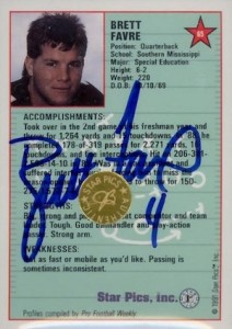 Full Brett Favre Rookie Cards Checklist and Key Early Cards 35