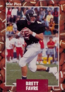 Full Brett Favre Rookie Cards Checklist and Key Early Cards 34