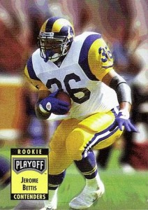1993 Playoff Contenders Jerome Bettis RC