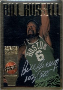 Top 10 Bill Russell Basketball Cards of All-Time 7
