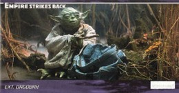 1995 Topps Empire Strikes Back Widevision Trading Cards 1