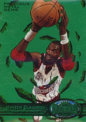 Top Hakeem Olajuwon Cards of All-Time 9
