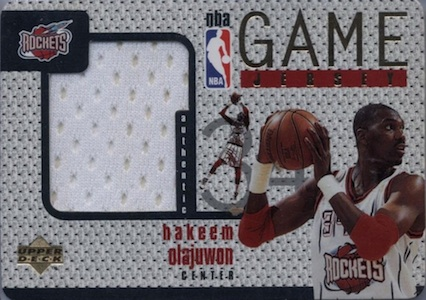 Top Hakeem Olajuwon Cards for Basketball Collectors to Own 10