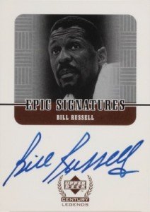 Top 10 Bill Russell Basketball Cards of All-Time 8