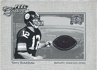 2000 Fleer Greats of the Game Terry Bradshaw