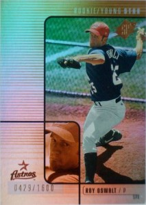 Roy Oswalt Rookie Card Checklist and Autograph Memorabilia Guide 3