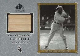 2001 SP Legendary Cuts Shoeless Joe Jackson