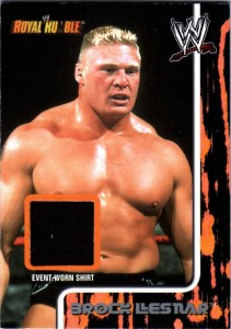 Brock Lesnar Cards, Rookie Cards and Autographed Memorabilia Guide 25