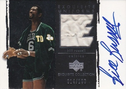 Top 10 Bill Russell Basketball Cards of All-Time 9