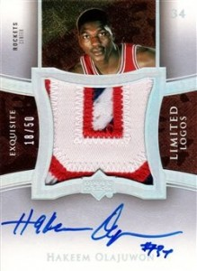Top Hakeem Olajuwon Cards for Basketball Collectors to Own 11