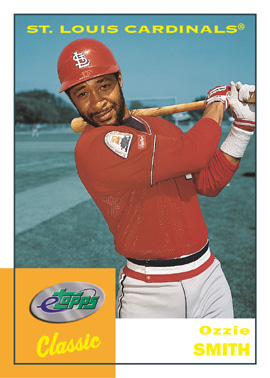 2004 eTopps Classic Baseball Ozzie Smith