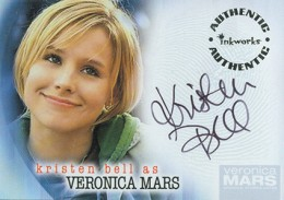 2006 Inkworks Veronica Mars Season 1 Autographs A-1 Kristen Bell as Veronica Mars