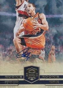 2009-10 Panini Court Kings Stephen Curry RC #128 Autograph