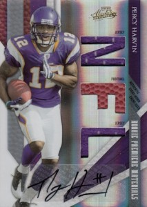 Percy Harvin Cards and Rookie Card Guide 23
