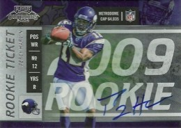 Percy Harvin Cards and Rookie Card Guide 3