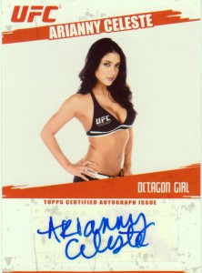 Arianny Celeste Cards and Autographed Memorabilia Guide 3