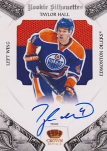 2010-11 Panini Crown Royale Taylor Hall RC