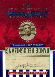 Shoeless Joe Jackson Baseball Cards and Autograph Guide 48